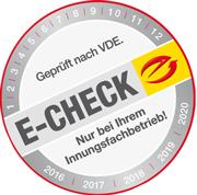 E-Check-Siegel